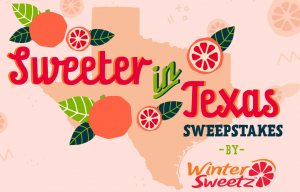 Lone Star Citrus Growers – Win a main prize of a $500 Amazon gift card OR 1 of 8 minor prizes