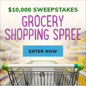 Meredith – Southern Living – Win a $10,000 Grocery Shopping Spree