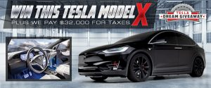 New Beginning Children's Homes – Win a 2020 Tesla Model X