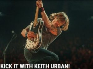 The Boot – Win a trip for 2 to Las Vegas to meet Keith Urban and tickets to his show