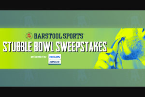 Barstool Sports – Stubble Bowl – Win a 4-day/ 3-night trip for two (2) people to Miami