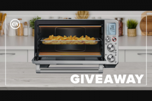 Chowhound – Breville Air Giveaway – Win of one Breville Air Oven