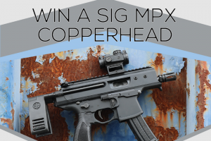 Classic Firearms – Win A Sig Sauer Mpx Copperhead Pistol W/ Romeo Msr Sight – Win a Sig Sauer MPX Copperhead Pistol w/ Romeo MSR Sight approximate retail value $1680.00.