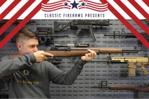 Classic Firearms – Win An M1 Garand Model D Rifle – Win an M1 Garand Model D Rifle approximate retail value $2500.
