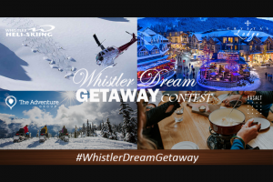 Crystal Lodge – Whistler Dream Getaway Contest Sweepstakes