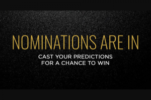 Focus Features – Awards Ballot Sweepstakes