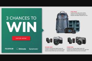 Fujifilm – X Series Camera Sweepstakes