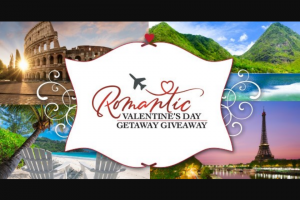 Gatehouse Starnews – Romantic Valentine's Day Getaway Giveaway Sweepstakes