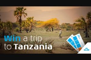 Ifly Klm Magazine – Trip To Tanzania Sweepstakes