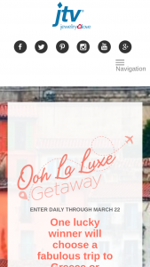 Jewelry Television – Ooh La Luxe Getaway Sweepstakes