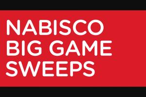 Mondelez Global – Nabisco Big Game – Win (1) $250 Commissary Gift Card and one (1) $250 Exchange Gift Card