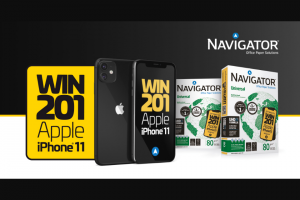 Navigator Paper – Iphone 11 – Win iPhone 11 black with 64Gb of Storage