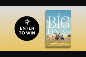 Penguin Random House – The Big Finish – Win a copy of The Big Finish by Brooke Fossey