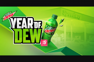 Pepsico Mtn Dew – Drink Up Cash In – Win Large).