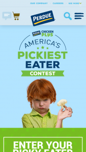 Perdue – America's Pickiest Eater Contest – Limited Entry Sweepstakes