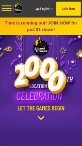 Planet Fitness – 2000 Clubs Trivia – Win A year-long Black Card Planet Fitness membership to winner's choice of a Planet Fitness club (ARV $275.88 each).
