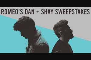 "Premiere Networks – Romeo's Dan  Shay – Win (3) day/two (2) night trip for Winner and one (1) guest (together the ""Attendees"") to see Dan  Shay in concert at United Center in Chicago Illinois on April 17 2020 (the ""Concert"")."