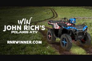 Redneck Riviera – John Rich's Polaris Atv – Win is a 2018 Polaris Sportsman 1000 XP
