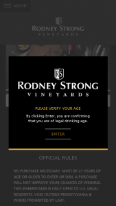 Rodney Strong Vineyards – Start The Year Fresh – Win Home Food Delivery Subscription Service