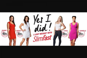 Slimfast – Diabetic Weight Loss Giveaway – Win the following prize SlimFast DWL Gift Box (up to $50.00) Each SlimFast Diabetic Weight Loss Gift Box contains One (1) SlimFast Diabetic Weight Loss Chocolate Milkshake Powder