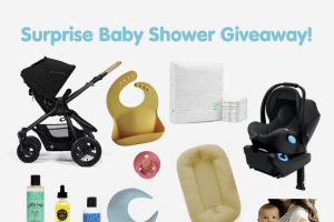 Tubby Todd – Surprise Baby Shower Giveaway Sweepstakes
