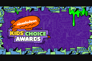 Viacom – 2020 Nickelodeon Kids' Choice Awards Sweepstakes