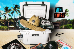 Volcom – Yeti Truly Chillin' – Win consists of the following One (1) YETI® Roadie 20 cooler and a $400 Credit for use exclusively on Volcomcom