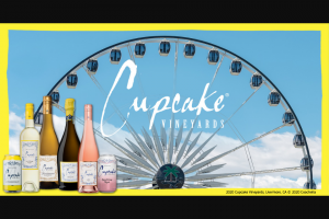 Wine Group Cupcake Vineyards – Coachella – Win a 5-day/4-night trip for winner and one guest to Indio California to attend the second weekend of the Coachella Valley Music and Arts Festival