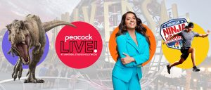 Comcast – Peacock Live – Win a trip for 4 to Los Angeles to attend Peacock Live at Universal Studios Hollywood