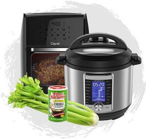 Duda Farm Fresh Foods – Win 1 of 3 Instant Pot Gift sets AND 1 of 3 Air Fryer Gift sets