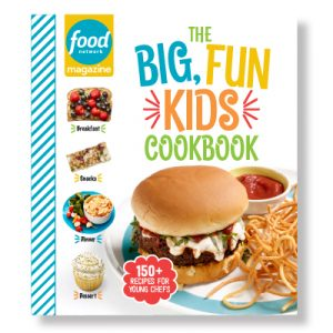Food Network Magazine – Win 1 of 25 Food Network Magazine Big, Fun Kids Cookbooks