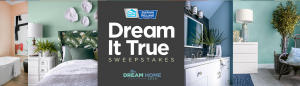 HGTV – Dream Home 2020 – Dream It True – Win 1 of 7 Lowe gift cards valued at $500 each