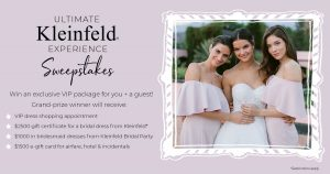 Kleinfeld Bridal Party – Win an exclusive VIP package
