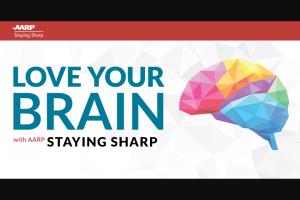 Aarp – Love Your Brain Sweepstakes
