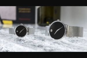 ABT – The Movado Valentine's Gift Set Giveaway – Win one (1) Movado Museum Classic 40mm Stainless Steel Mens Watch – 0607219 and (1) Movado Museum Classic 28mm Stainless Steel Womens Watch