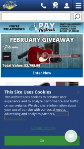 American Musical Supply – February John Jorgenson 12 String Giveaway – Win a Bose L1 Compact