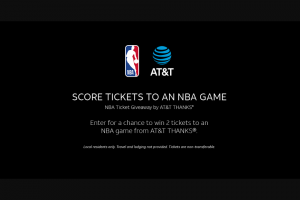 AT&T Mobility – Nba Ticket Sweepstakes
