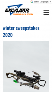 Bowtech – Excalibur Winter 2020 – Win Micro 340 TD ARV US $999.99.
