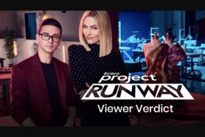 Bravo – Project Runway Viewer's Verdict – Win a three (3) day