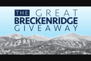 Breckenridge Grand Vacations – Great Breckenridge Giveaway – Win 7-nights lodging at Grand Lodge on Peak 7 and $5000 cash
