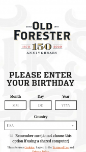 Brown-Forman – Old Forester Bourbon Whiskey Row Retreat Contest – Win a trip for two (2) to the Old Forester Bourbon Distillery in Louisville