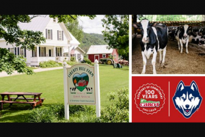 Cabot Creamery – Uconn Women's Basketball Vacation – Win two night stay for two adults at Liberty Hill Farm in Rochester Vermont