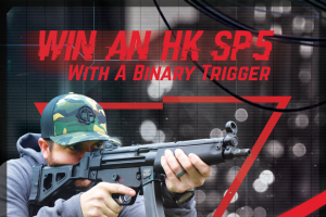 Classic Firearms – Win A Heckler And Koch Sp5 Pistol W/ Binary Trigger – Win a Heckler and Koch SP5 Pistol approximate retail value $3750.00.