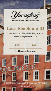 Dg Yuengling & Sons – Vip Dinner Party In The Yuengling Caves – Win one $750 travel voucher in the form of a VISA gift card
