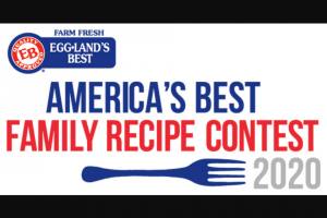 Eggland's Best – America's Best Family Recipe Contest – Win verification of eligibility and compliance with these Official Rules
