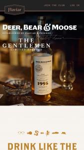 Flaviar – Drink Like The Gentlemen – Win Flaviar Annual Membership worth $300 and Deer