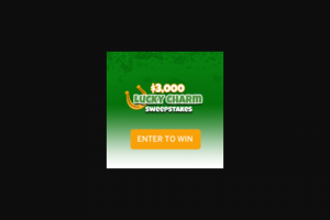 Frankly Media – $3000 Lucky Charm – Win consisting of a cash award in the amount of three thousand US Dollars (US$3000)