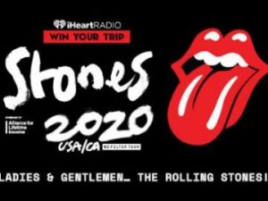 iHeart Radio – The Rolling Stones – Win a first class trip for 2 to destination airport for a Rolling Stones tour stop