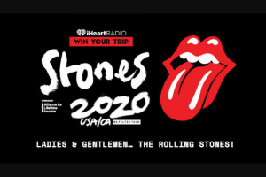 Iheartmedia – Ladies & Gentlemen… The Rolling Stones – Win and approximate retail value and such difference will be forfeited