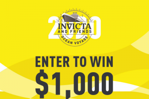 Imedia Brands – Invicta & Friends Ocean Voyage – Win one $1000 ShopHQ Credit